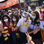 Habitantes de El Treinta refrendan total apoyo a Ricardo Taja